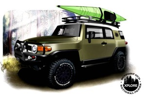 National Park Edition XPLORE FJ Cruiser